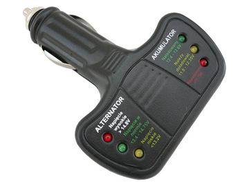тестер elektroniczny аккумулятора , генератор светодиод led - фото