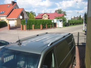рейлинги крыши volkswagen vw t5, t6 - фото