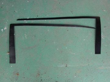 накладка  планка стекла правая сторона левая сторона volvo v70 850 - фото