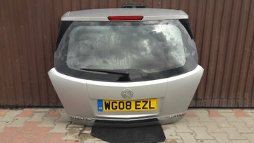 opel antara крышка багажника 92u srebrna w-wa - фото