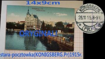 кенигсберг кенигсберг старая открытка 1915 preussen доставка товаров из Польши и Allegro на русском