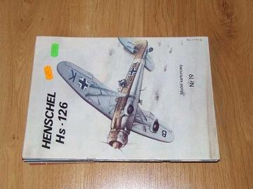 Model Card № 19 Henschel Hs-126 доставка товаров из Польши и Allegro на русском