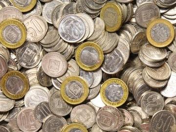 Сама ВЕНЕСУЭЛА - монеты ЭКЗОТИЧЕСКИХ - набор 1 КГ доставка товаров из Польши и Allegro на русском
