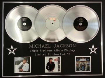 Майкл Джексон THRILLER, BAD, DANGEROUS 3 платина доставка товаров из Польши и Allegro на русском