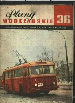 ПМ № 36 МОДЕЛЬ ТРОЛЛЕЙБУСА, МОДЕЛЬ ТАНКА доставка товаров из Польши и Allegro на русском