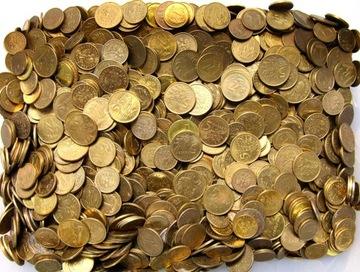 Польские монеты циркуляционные 1 2 5 центов - набор 1 КГ доставка товаров из Польши и Allegro на русском