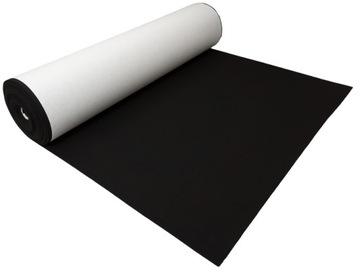 Войлок САМОКЛЕЮЩИЙСЯ черный 4 мм 600 г/м2 - 0.5 м2 доставка товаров из Польши и Allegro на русском