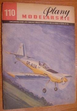 PM nr 110 Samolot akrobacyjny ZLIN-50L доставка товаров из Польши и Allegro на русском