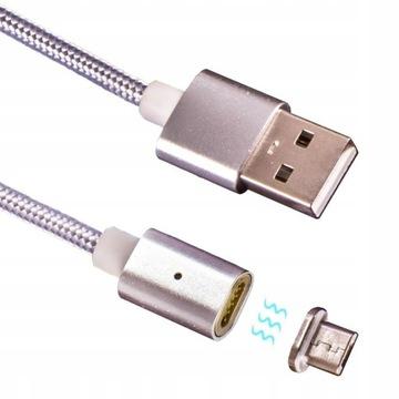 Магнитный кабель USB - microUSB, адаптер доставка товаров из Польши и Allegro на русском