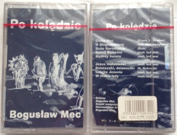 KOLĘDY - BOGUSŁAW MEC PO KOLĘDZIE /KASETA AUDIO/ доставка товаров из Польши и Allegro на русском