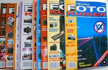 Foto kurier zestaw 11 numerów z lat 1999-2003 доставка товаров из Польши и Allegro на русском