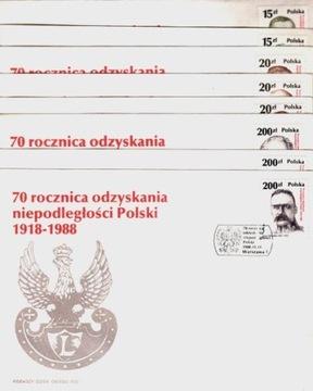 (Fi 3021-28 FDC. 70.rocz. Восстановления Независимости) доставка товаров из Польши и Allegro на русском
