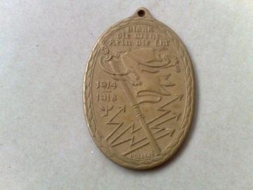 Мемориальная медаль войны 1914-1918 гг. доставка товаров из Польши и Allegro на русском