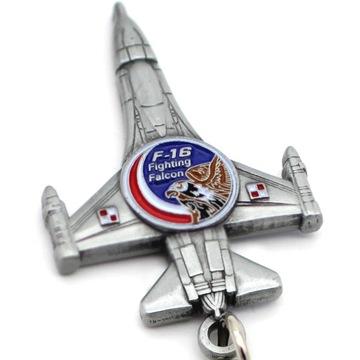 Брелок F-16 Fighting Falcon самолет Ястреб доставка товаров из Польши и Allegro на русском