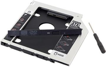 КАРМАН SATA 2,5 HDD SSD ВМЕСТО CD 12,7 ALU РАМКА доставка товаров из Польши и Allegro на русском