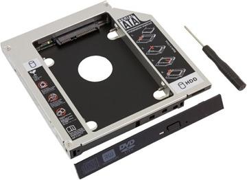 РАМКА КАРМАН НОУТБУК 12,7 мм SSD HDD ВМЕСТО DVD доставка товаров из Польши и Allegro на русском