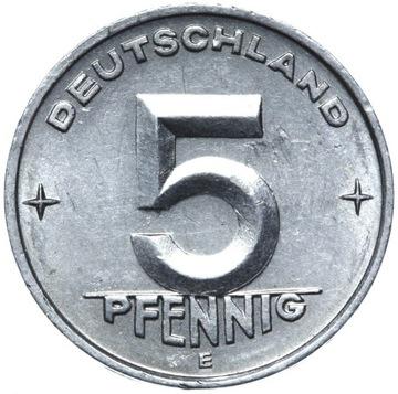 Германия DDR - монета 5 Pfennig 1953 ЭЛЕКТРОННОЙ MULDENHUTTEN доставка товаров из Польши и Allegro на русском