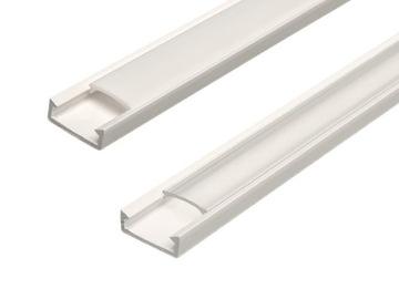 Профиль для LED 2m для СВЕТОДИОДНЫХ лент 8 10 мм + АБАЖУР доставка товаров из Польши и Allegro на русском