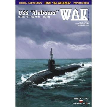 ОАК 10/17 подводная лодка USS Alabama SSBN-731 доставка товаров из Польши и Allegro на русском