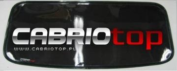 BMW E36 Z3 E30 CABRIO СТЕКЛО ЗАДНИЕ OKNO CABRIOTOP