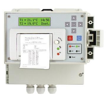 dr100 rejestrator temperatury z drukarką termograf