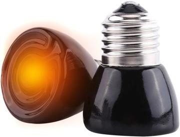 Infračervený vykurovací žiarič IR 100W Vyhrievanie žiarovky