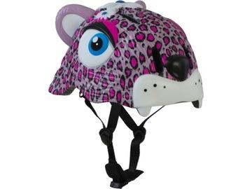 Detská prilba CRAZY SAFETY Pink Leopard