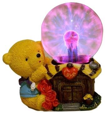 PLAZMOVÁ Lopta s figúrkou plyšového medveďa