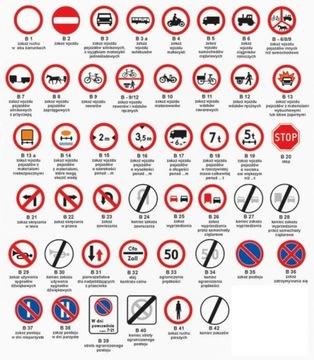 Road Sign B 400mm Road Signs Faktúra