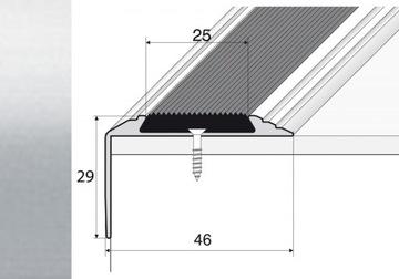90cm schodiskový protišmykový pás SILVER A38