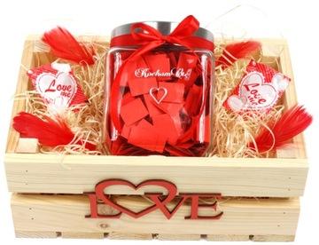 365 dôvodov, prečo milujem Valentína darček