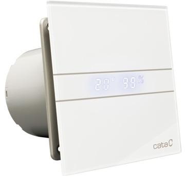 Kúpeľňový ventilátor E-100 gth Cata Hygro + klapka