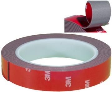12,7 mm obojstranná lepiaca páska VHB 3M