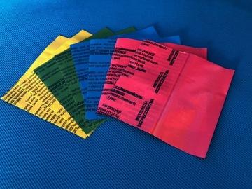 Teplom zmrštiteľné tesnenia na valcoch s voľným pokynom.