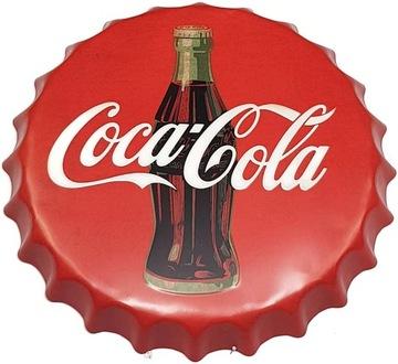 Tin Cap Cola Big 40cm Coca Cola dekorácie