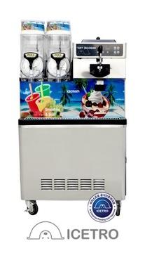 Všetko v jednej zmrzlinovom stroji - 100l / h + Granitor
