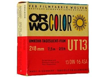 Volanie farebného filmu z fotoaparátu 2x8mm. DS8