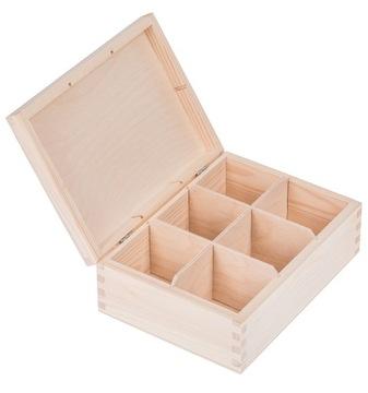 Drevený čajový skrinka 6 Rozdiely DecyasaPage