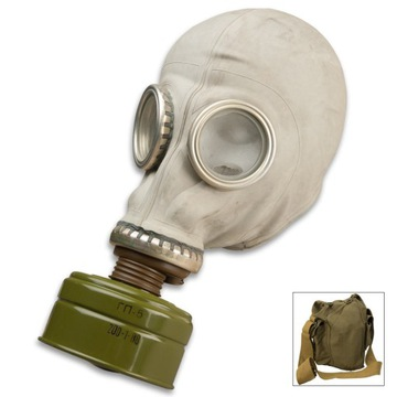GP-5 Plynová maska - ZSRR BAG MASK