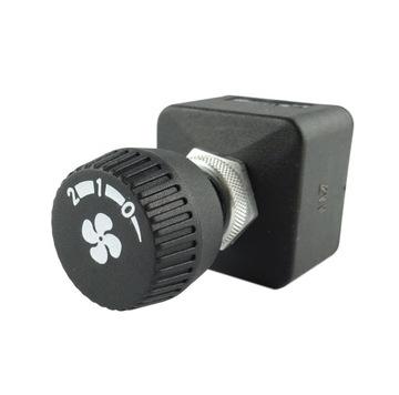 3-ступенчатый поворотный переключатель 12 / 24V нагревателя