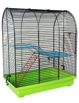 КЛЕТКА ДЛЯ Джунгарского хомячка, мыши + корм