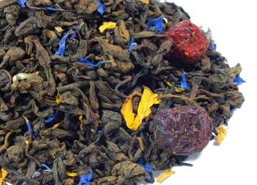 Пуэр с цветами красный чай 50г Skworcu
