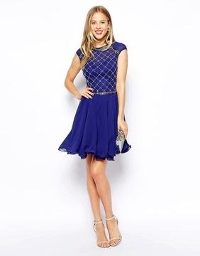 CHI CHI LONDON niebieska w Sukienki Moda damska na Allegro.pl