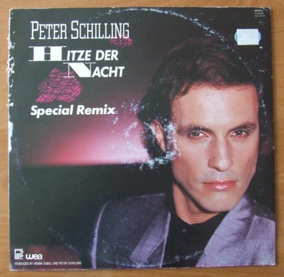 PETER SCHILLING - Hitze Der Nacht (Remix) MAXI12''