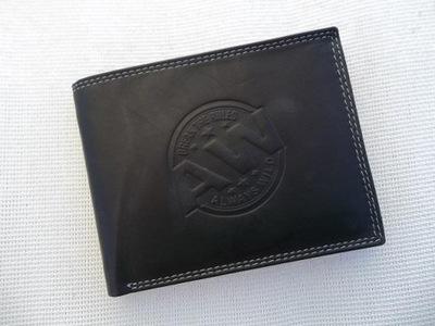 3e26babc83d16 Portfel Lorenti lakierowany czarny skórzany skóra 7596416216 ...