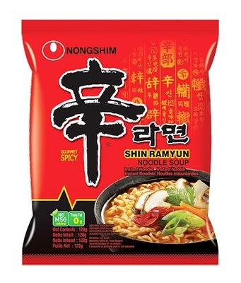 суп корейской SHIN RAMYUN острая 120г