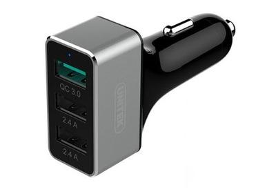 Ładowarka Samochodowa USB 2,4A QC Quick Charge 3.0