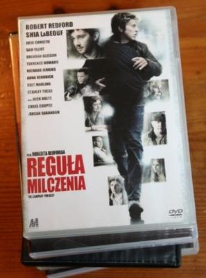 REGUŁA MILCZENIA     DVD
