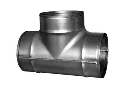 тройник вентиляции T 100 spiro termoflex