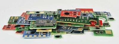 Chip OKI C801 C821 C801DN C801N C821dn C821n CMYK
